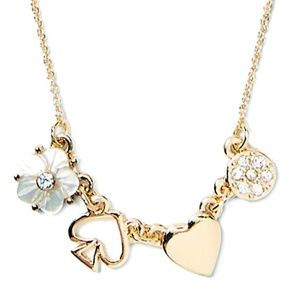 Kate Spade Mini Things Row Necklace